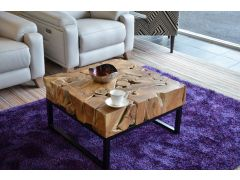 Naturally Unique Teak Root Coffee Table Design A