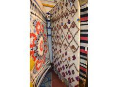 Theko Nomadic Rug Shaggy Wool Peruvian Style