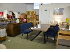Industrial dining set and sideboard designer furniture shop Clitheroe