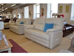 Shalbourne Two Piece Leather Suite 3 Seater Sofa and 2 Seater Sofa