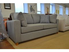 Somerton Sofa Bed 3 Seater in Grey Polyester Fabric