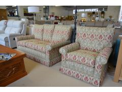 Mini Traditional 3 Seater Sofa and Armchair Set