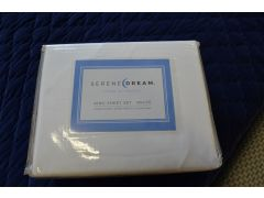 White King Size Bedding Set from Serene Dream