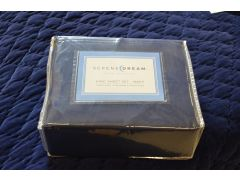Navy Blue King Size Bedding Set from Serene Dream