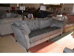 Loretta fabric two piece suite ex display sofas Clitheroe Lancashire