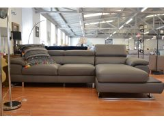 Italian leather chaise corner sofa discount designer sofas Lancashire ex display sofa showroom Ribble Valley high end brands like Minotti Natuzzi Ligne Rossi Italia Living