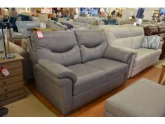 ex display sofas Washington leather two piece suite
