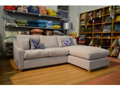 fabric chaise corner sofa ex display sofas Lancashire