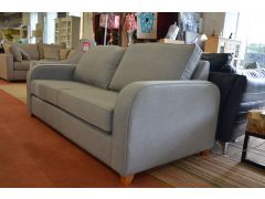 Dunsmore 3 Seater Sofa Bed in Grey Fabric
