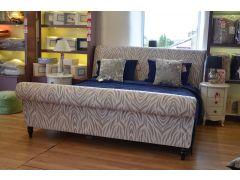 Serengeti SuperKing Zebra Bed Frame and Wool Mattress Set