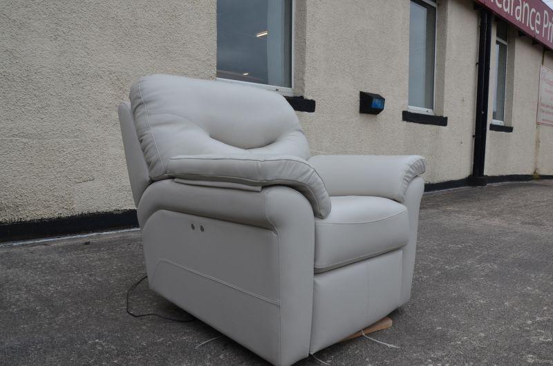 ex display sofas Washington leather armchair recliner Lancashire