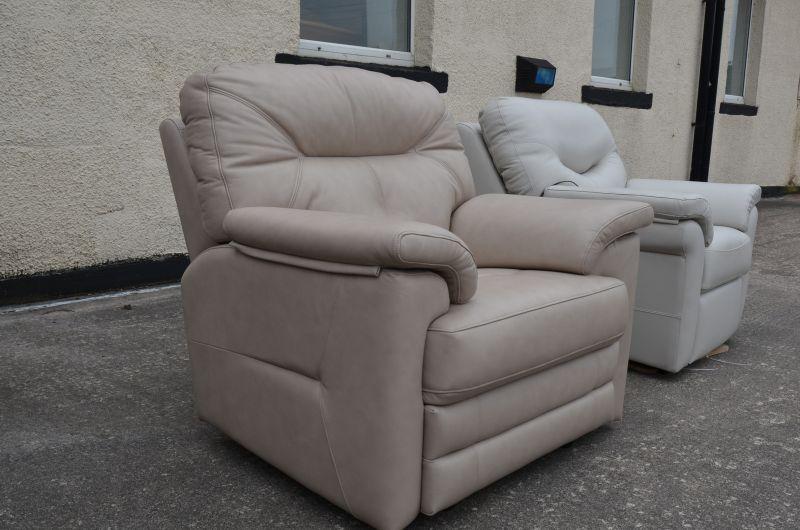 Stanton leather armchair ex display sofas sale Lancashire
