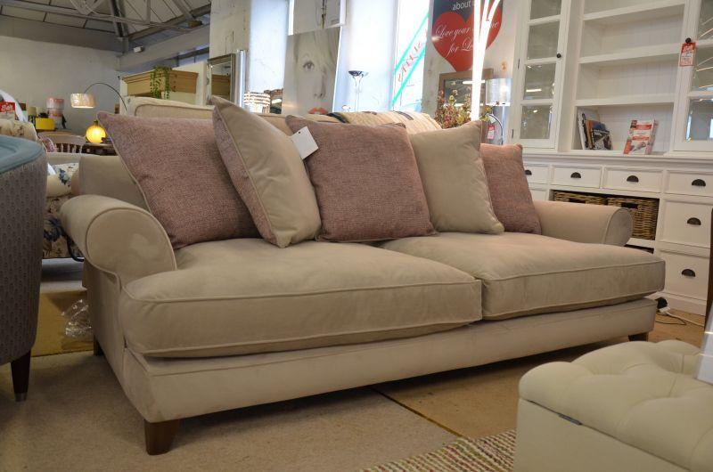 Ex display sofas Briony 4 seater sofa