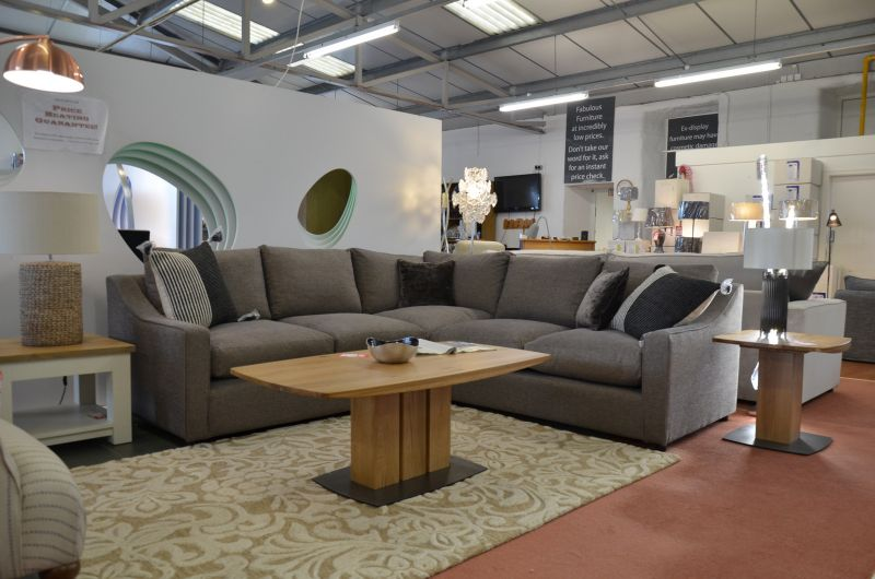 ex display sofas Bisford corner sofa bed