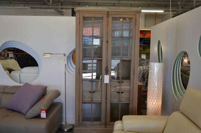 Designer Glass Front Bookcase Willis & Gambier Clitheroe Lancashire