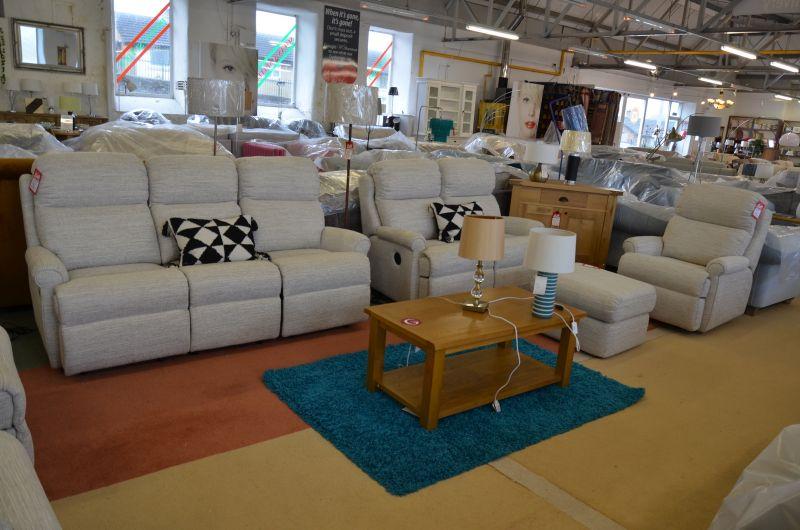 Newbury ex display sofas North West