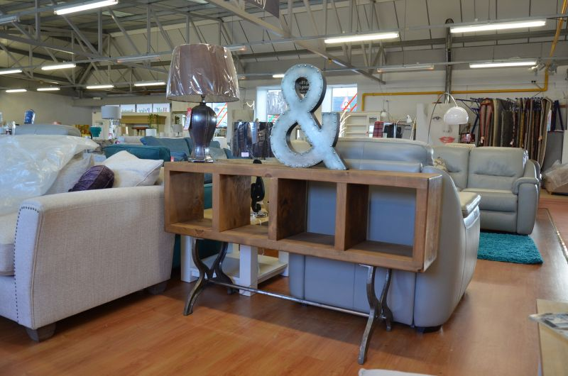 furniture shop Clitheroe A59 ex display furniture outlet store Lancashire industrial chic