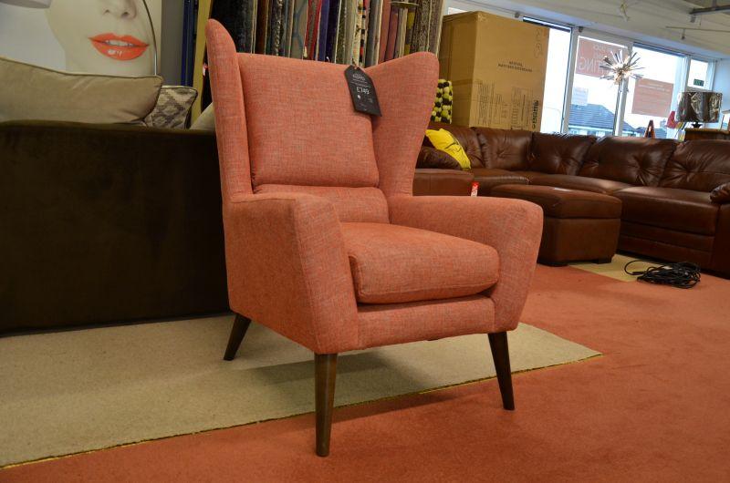 Wingback 1960s Armchair Discount Ex Display Sofas Lancashire