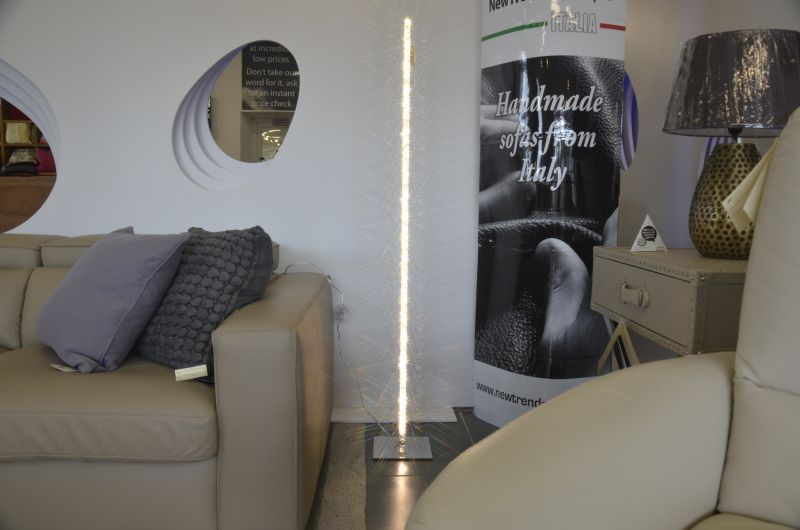 Liz Crystal Tower Floor Lamp