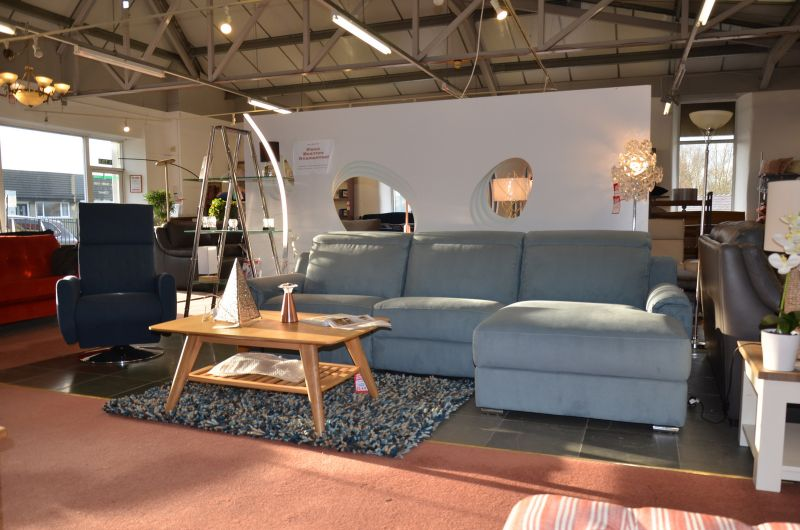 designer sofas ex display clearance outlet Italian chaise corner suite Lancashire Ribble Valley Clitheroe
