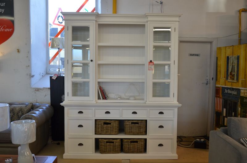 Nova Solo Halifax Library Hutch Dresser Unit
