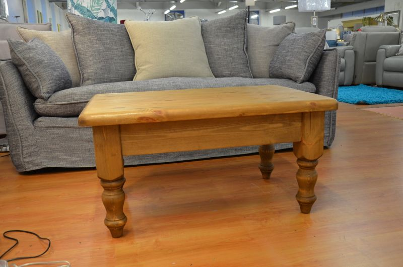 Solid Pine Coffee Table ex display furniture outlet Lancashire