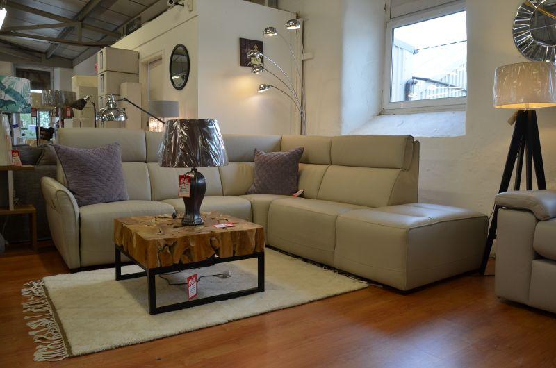 ex display sofa discount designer leather corner sofas Lancashire Clitheroe near A59