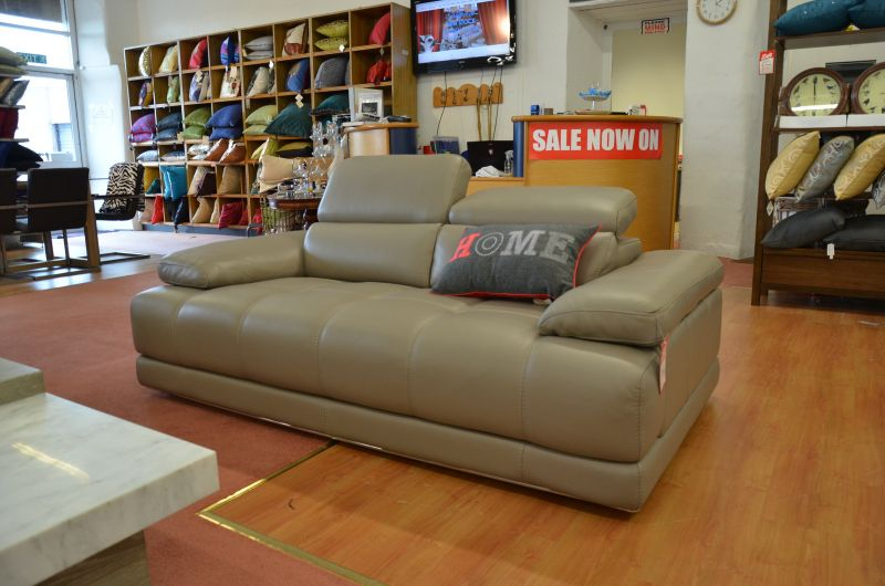 Vivaldi Two Piece Suite Pair of Leather 2 Seater Sofas