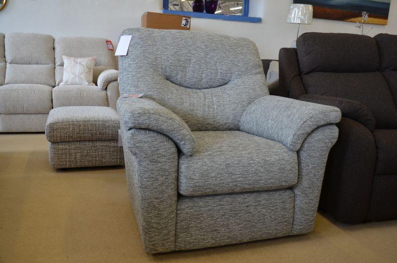 Washington fabric armchair ex display sofa clearance warehouse Clitheroe