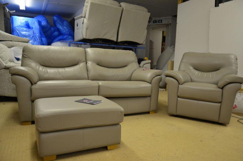 leather washington suite discount ex display sofas Lancashire designer sofa outlet Clitheroe