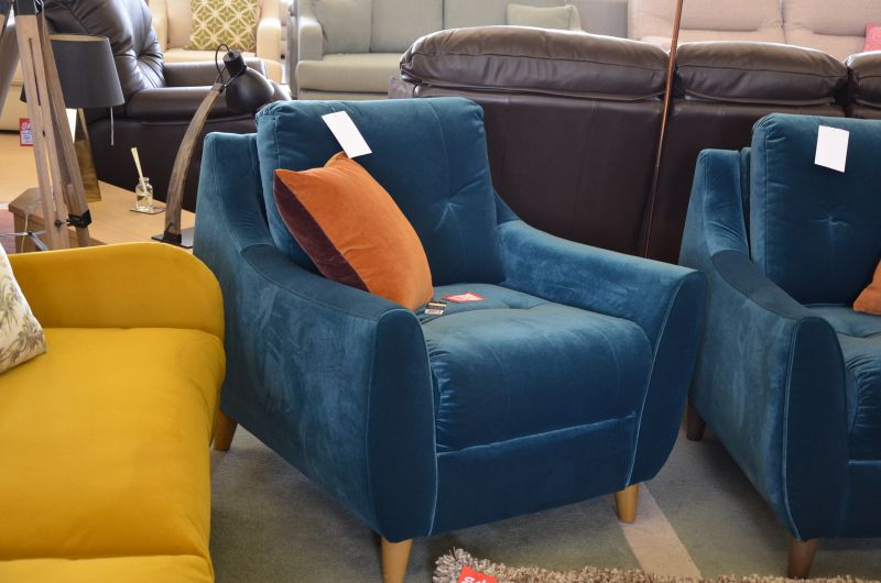 retro armchair ex display sale