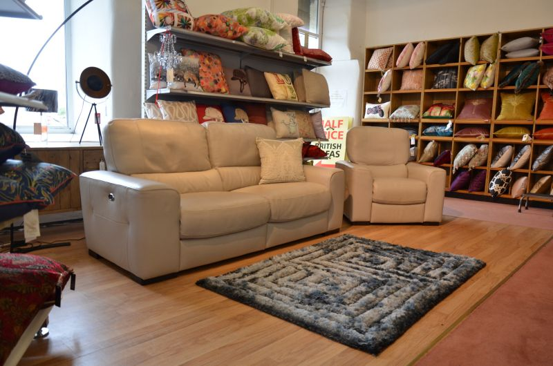 Italian leather sofas Lancashire ex display sofa sale fast UK delivery Italia Living Clitheroe