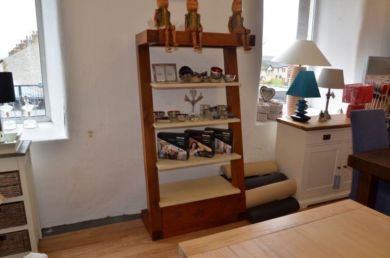 Half Price designer bookcase lancashire