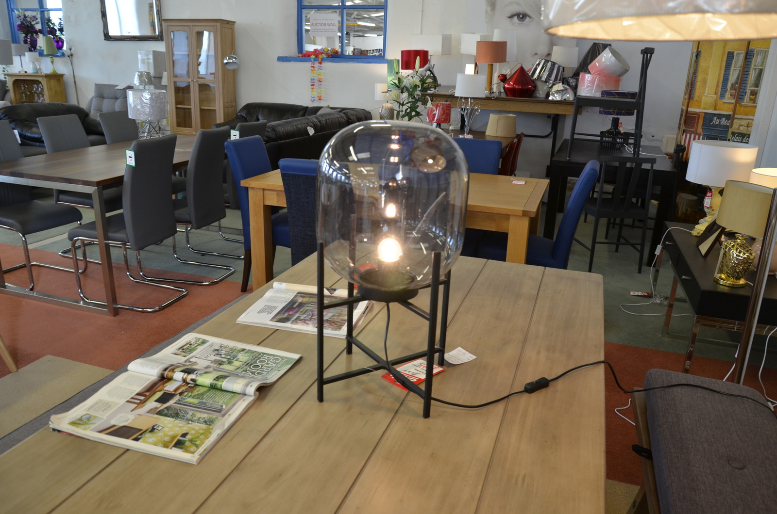 unique designer lighting in clitheroe at wb showroom