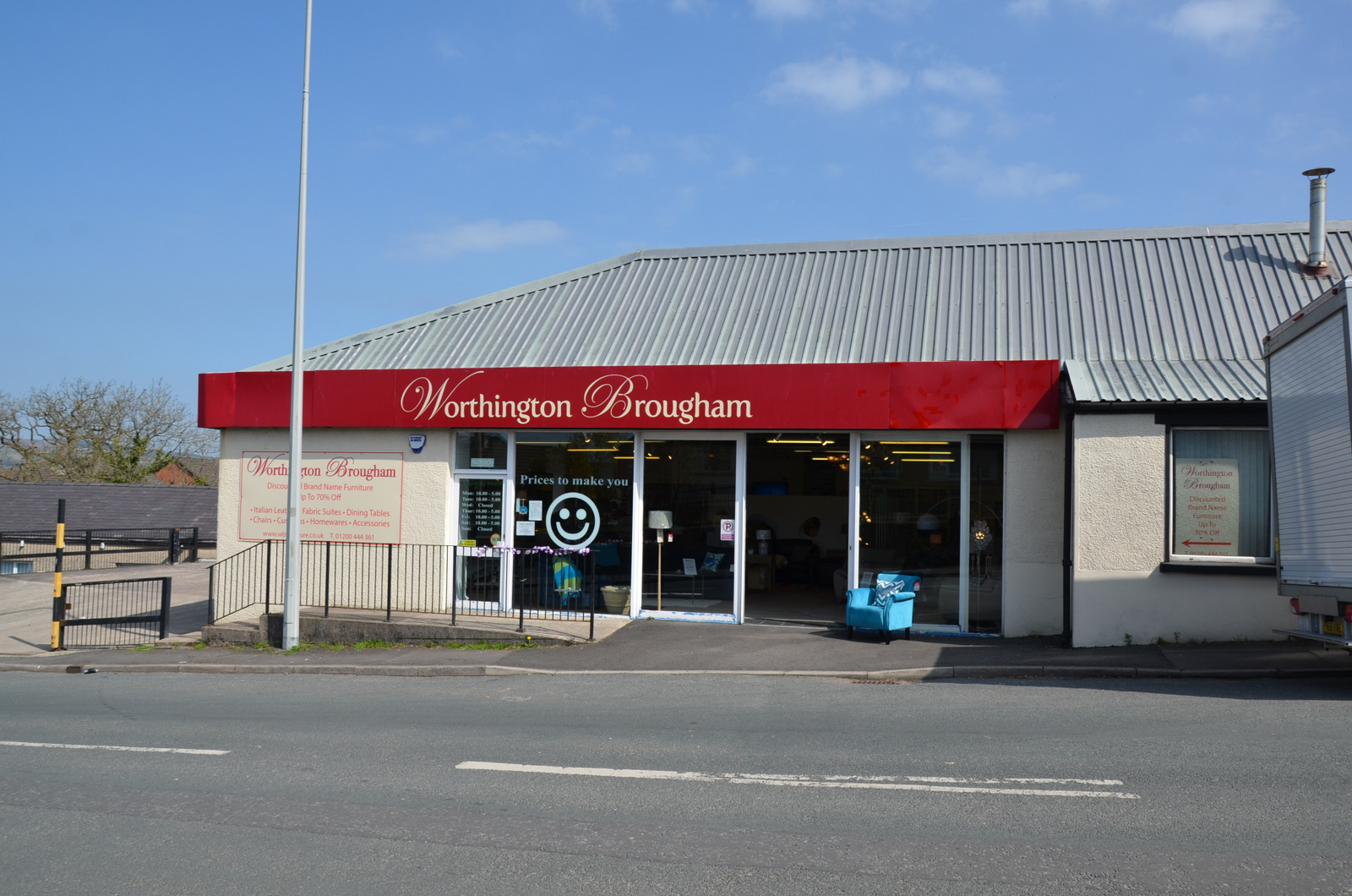 Worthington Brougham Furniture Discount Designer Sofas in Clitheroe Lancashire