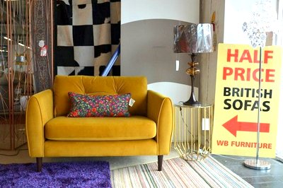 Discount clearance sofas from our warehouse in Lancashire