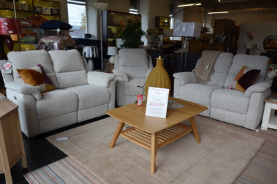 ex display sofas from G Plan half price sale