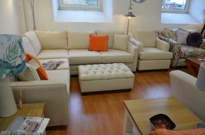 ex display corner suites half price at WB in Lancashire